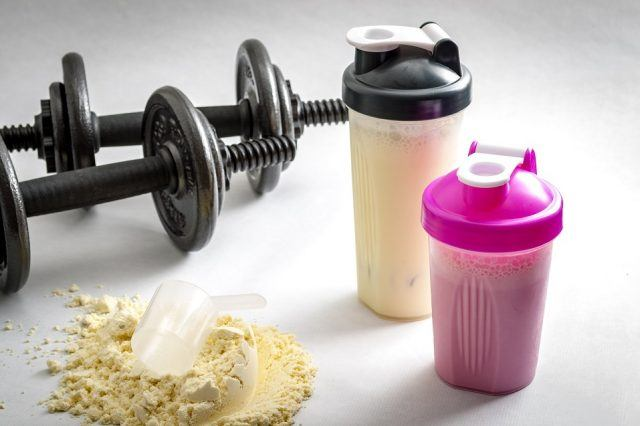 Fitness-workout-shakes